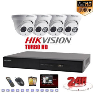 4K Hikvision IP 1080p Security Camera installation Mississauga