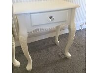 Shabby chic bedside tables 💕