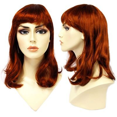 WG-062 Soft Look Auburn Red Alley Wig (Halloween/Party/Costume/Cosplay) Wig Only](Halloween Party Looks)