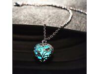 Sweet Luminous Heart Necklace For Women