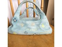 Pale Blue Hispanitas bag