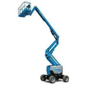 60-65 Ft Articulating Boom Lift Rental