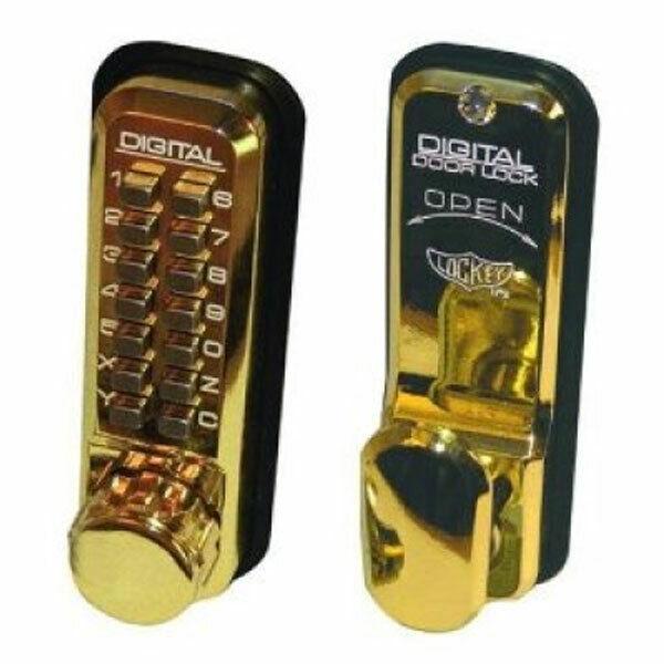 Lockey 2430 Mechanical Digital Lock PB (2430-PB)