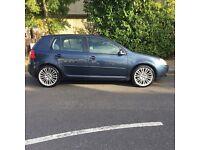 VW Golf GT TDi Diesel,Low Miles,long mot,spare key,good condition