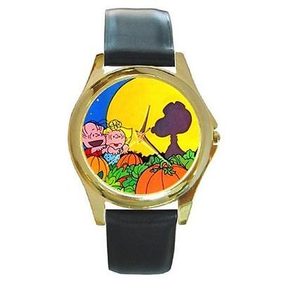 SNOOPY LINUS GREAT PUMPKIN HALLOWEEN WATCH 6 OTHER STYLES (Watch Halloween 6)