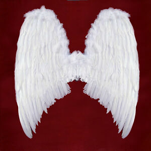 EXTRA LARGE White Feather Angel Wings Photo Props adult Women Men Costume adult