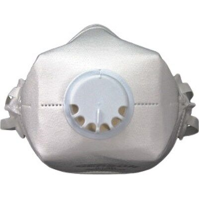 Gerson 2180 N100 Particulate Respirator Safety Gas Mask W Valve Individual Mask