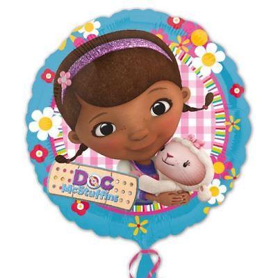 s Geburtstag Party Dekoration Runder Folienballon (Doc Mcstuffins Geburtstag Dekoration)