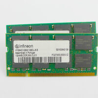 Matching pairs of 1gb PC2700 - PC3200 Laptop Ram - wanted