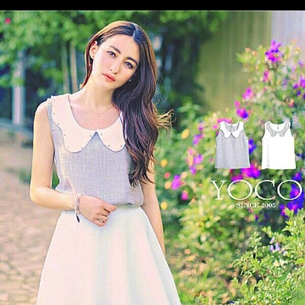 Princess Collar Blouse (Only Grey Available )