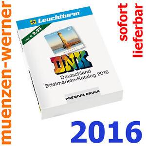 NEU Leuchtturm DNK 2016 Deutschland Briefmarken Katalog mit Michel-Nummernsystem