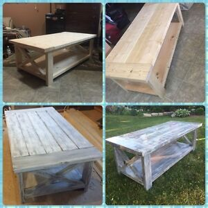 Farmhouse Coffee Tables/Dining Tables/Kitchen Tables