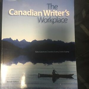 Canadian writers workplace