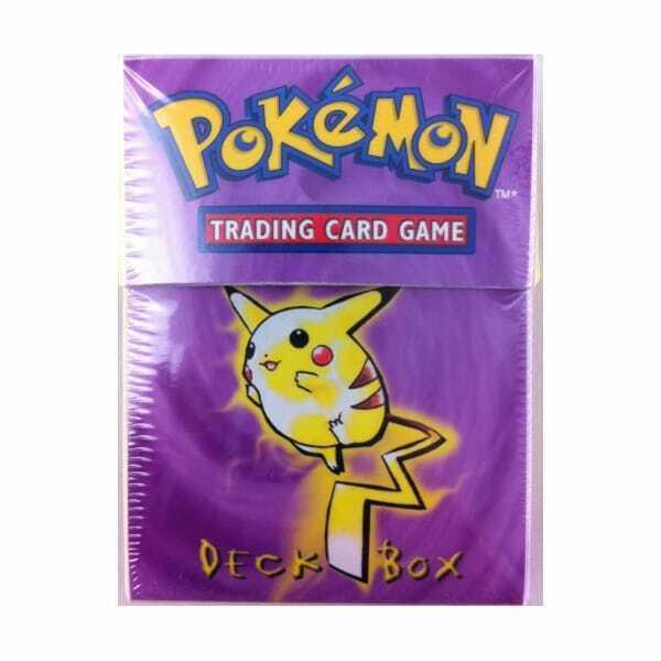 Pokemon TCG Ultra Pro Pikachu Deck Box 1 Box 60 Standard Sized Sleeves  - $43.50