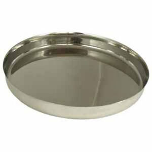 Stainless Steel Indian Thali Dinner Plate