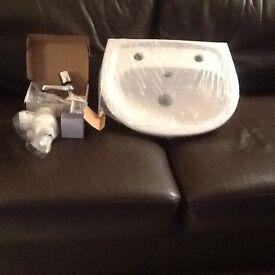 Cloakroom wash hand basin
