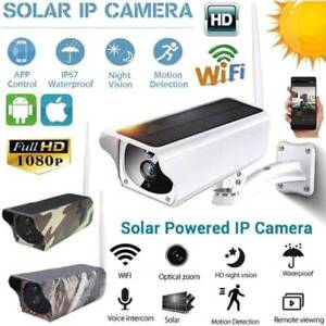 NEW 2MP Outdoor Solar Waterproof Wireless WiFi 1080P Security IP Doveton Casey Area Preview