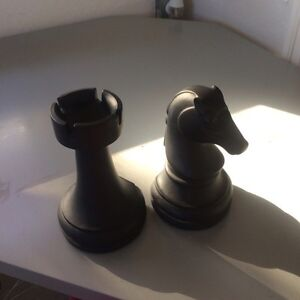 Chess Set Book Ends