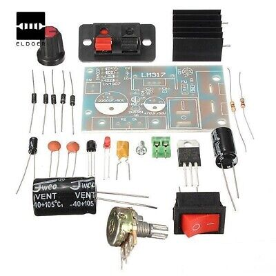 Electronic Kit Circuit Board Diy Lm317 Module Suite Supply Power Step-down