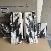 Lots and lots of good quality goalie equipment