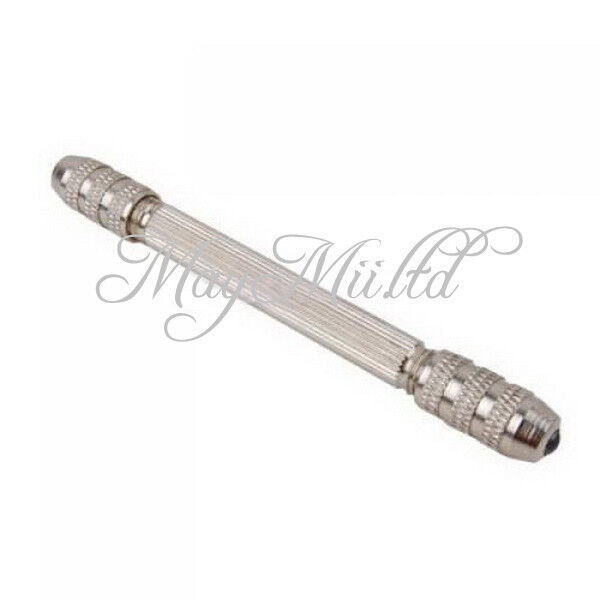 Newest Steel Double End Pin Vise Tong For Jewelry Craft Hobby Drill Tool O チ
