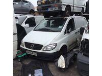 Mercedes VITO Panel Van White 2.2 Diesel 2004 * Breaking / Spares * Liverpool *