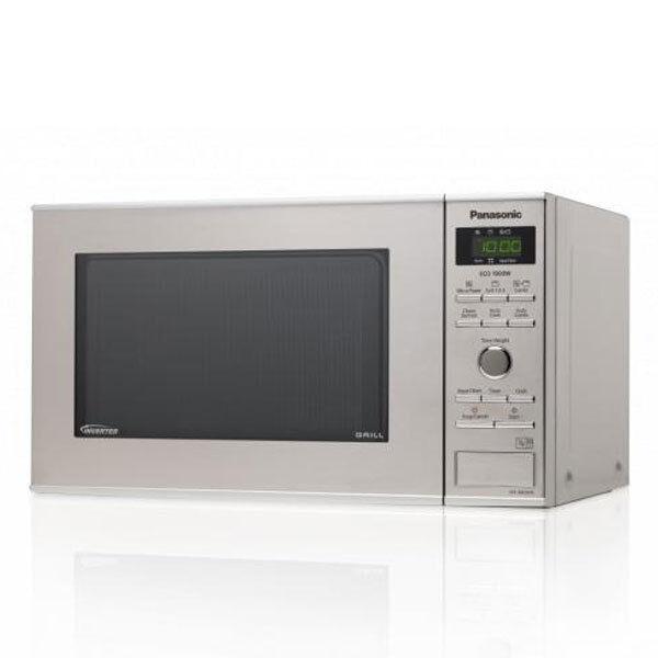 Panasonic NN-GD 37 HSGTG Mikrowelle Inverter Edelstahl Quarzgrill Garraum 23 L