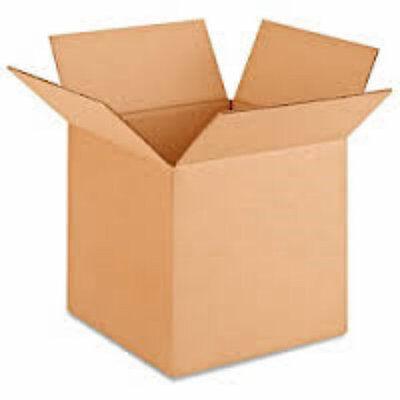 Corrugated Boxes 25 Pcs 10 X 10 X 10 Brand New Fast Shipping