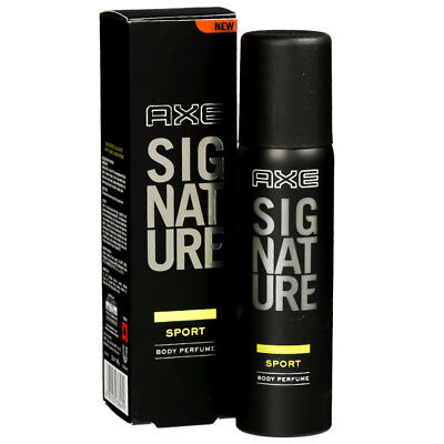 AXE Signature Sport Men Body Perfume SPRAY Masculine Sensual Fragrance 122 ml