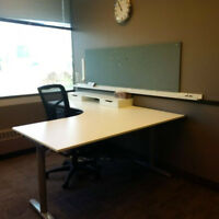 Square one furnished office space