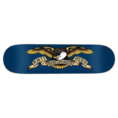 "Anti Hero Skateboard Deck Classic Eagle 8.5"" Antihero FREE GRIP"