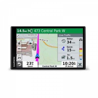 "Garmin DriveSmart 65LMT 6.95"" Auto GPS With Lifetime NA Mapping 010-02038-02"