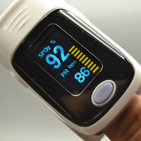 Oximeter measures your Blood Pulse & Oxygen Saturation