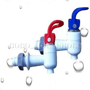 Plastic push type handle water dispenser tap faucet spare for Plastic water valve types