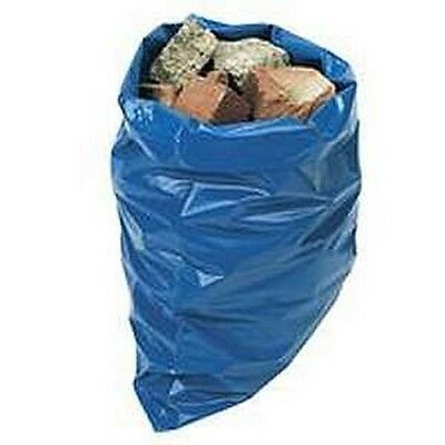 Bags Rubble Sacks Roll of 7 Blue