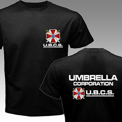 New Umbrella Corp Ubcs Special Forces Unit Army Soldier T Shirts