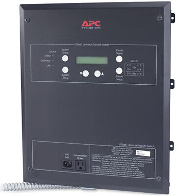 Apc 20-amp 120240v 6-circuit Indoor Manual Transfer Switch