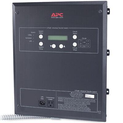 Apc 20-amp 120240v 6-circuit Indoor Manual Transfer Switch