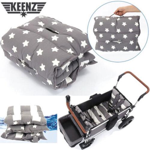 [Keenz] Wagon Moov Cushion Two-sided Mat Joy 100% Cotton Waterproof - Gray