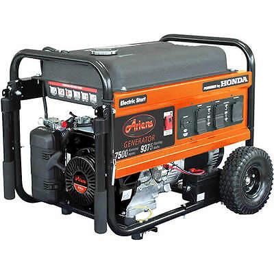 Ariens 7500 Watt Electric Start Portable Generator w/ Honda GX Engine (7500 Watt Honda Generator)