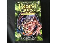 Beast Quest Book - Vermok