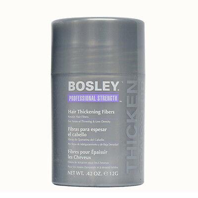 Bosley Professional Strength Hair Thickening Fibers 0.42 oz.Medium Brown - NEW