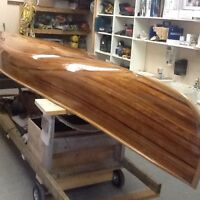 16' hand Crafted Cedar Canoe