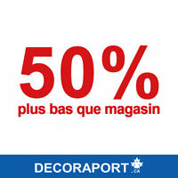 Decoraport.ca - 50% Plus Bas Que Magasin