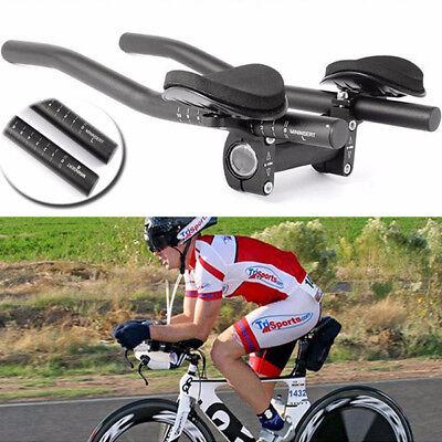 Road Mountain Bike Bicycle Alloy Triathlon Aero For Rest Handlebars 31.8mm