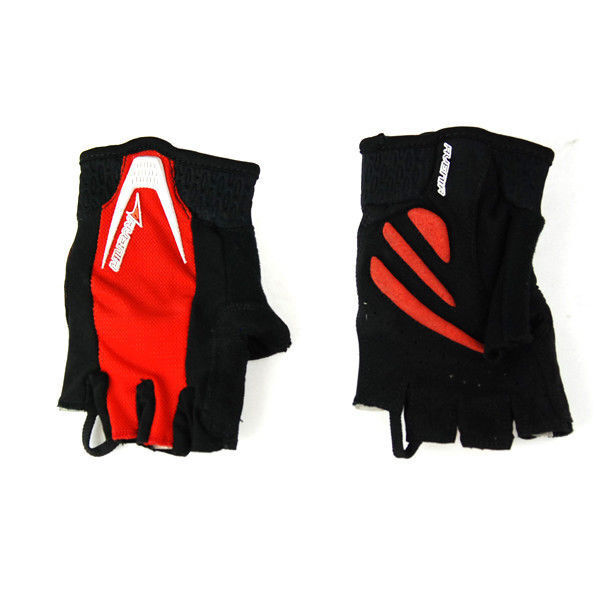 Avenir Serious Fingerless Cycling Bicycle Bike Gloves Small