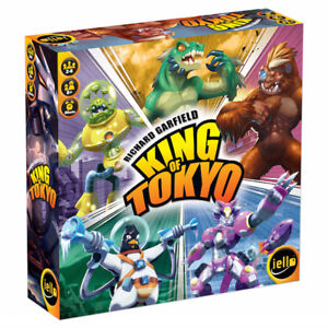 BOARD GAME - King of Tokyo/ Adrenaline /Ticket to Ride (SEALED)