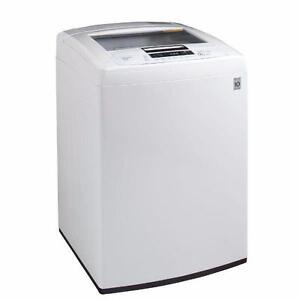 LG WT1101CW 5.0 Cu. Ft. Large-Capacity High-Efficiency Washer (Factory Refurbished)