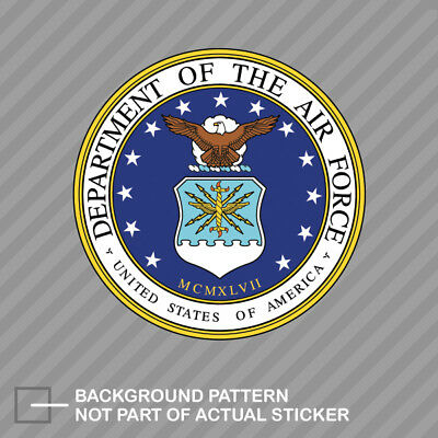 - Department of the Air Force Seal Sticker Decal Vinyl usaf united
