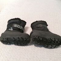 Sorel - youth size 10 winter boots